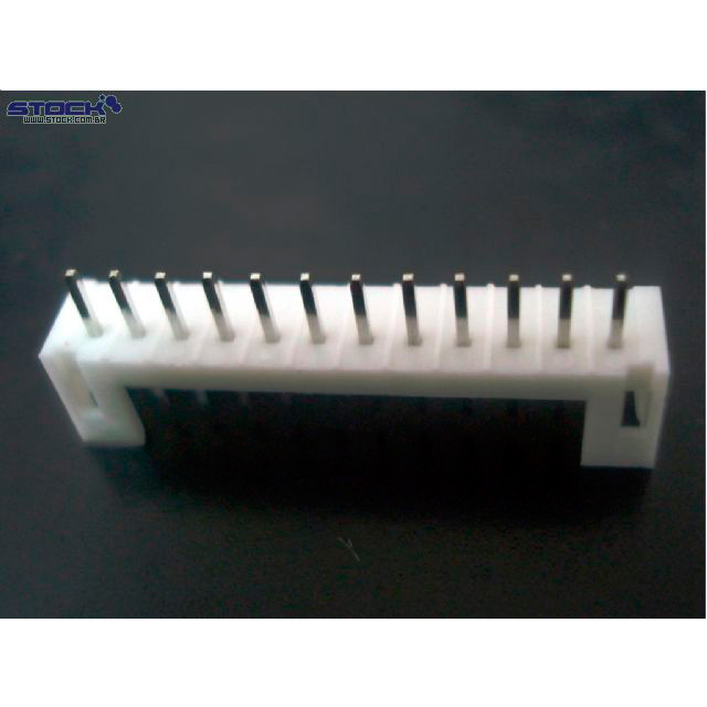 Conector Placa Fio PH 180 Graus 12P