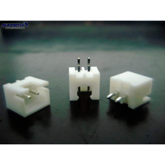 Conector Placa Fio XH 180 Graus 2P
