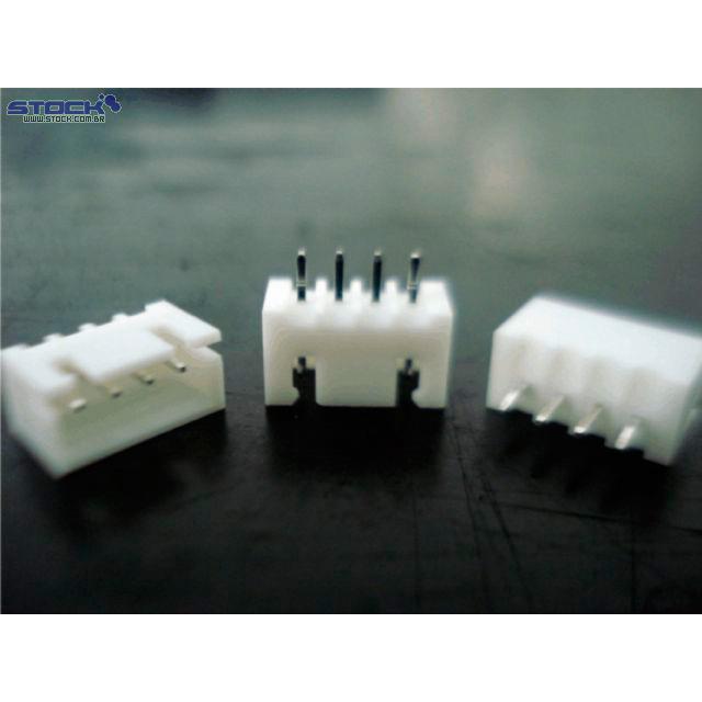 Conector Placa Fio XH 180 Graus 4P
