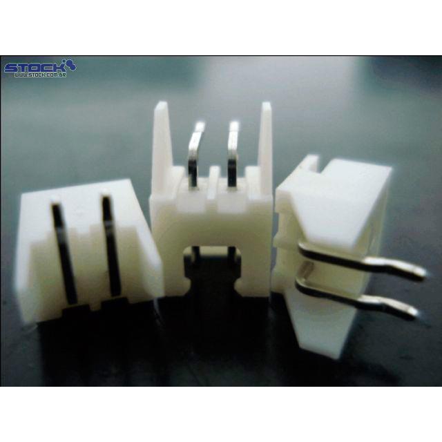 Conector Placa Fio XH 90 Graus 2P