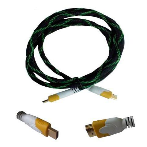 Cabo HDMI Macho x HDMI Macho 1.50m Preto