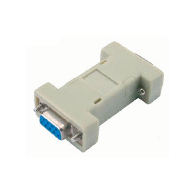 Adaptador-Serial-DB09-Fêmea-x-DB09-Fêmea-Cinza