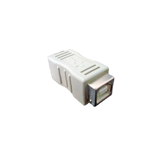 Adaptador-USB-B-Fêmea-x-B-Fêmea-Cinza