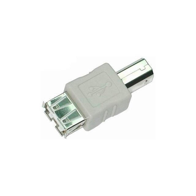 Adaptador-USB-A-Fêmea-x-B-Macho-Cinza