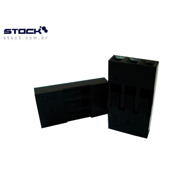 ALOJAMENTO MODU 2.54mm 3V SIMPLES