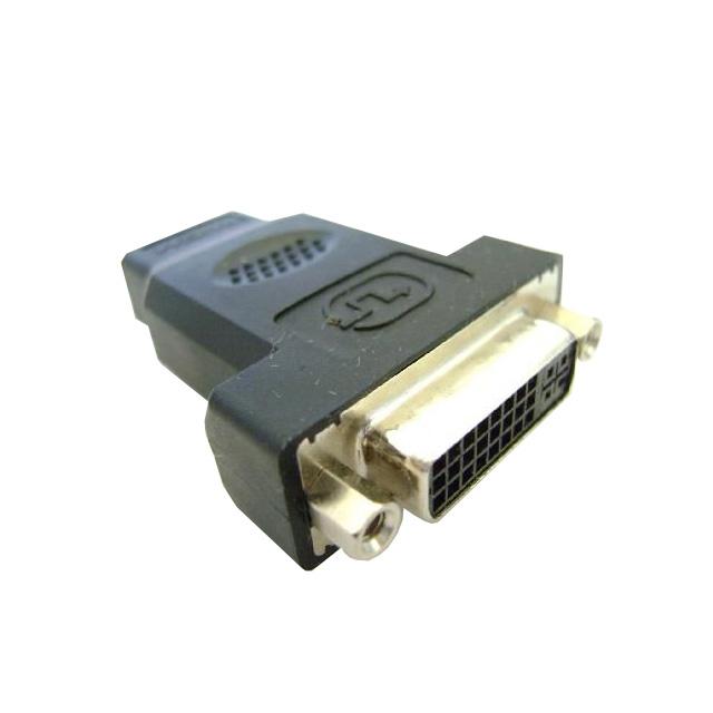 Adaptador-HDMI-Macho-x-DVI-Fêmea-Preto