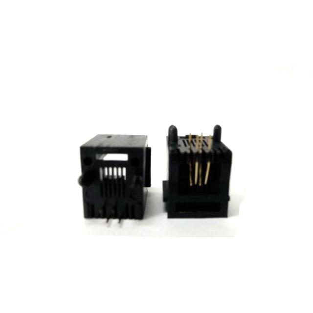 Modular Jack Fêmea 180 Graus PCI 6 x 4