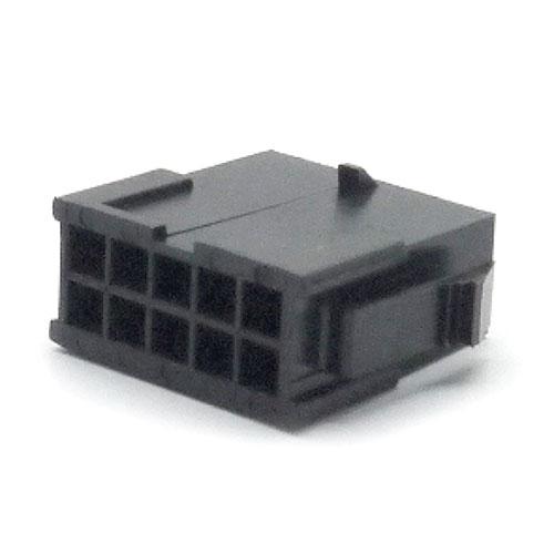 Alojamento Micro Fit Macho 10 Vias
