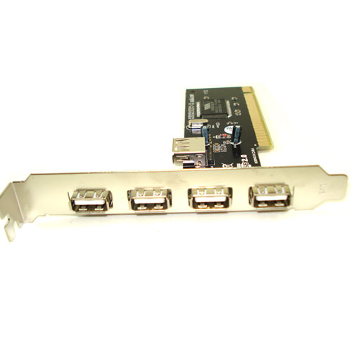Placa PCI USB 4 Portas