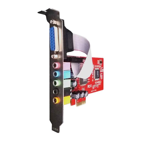 Placa PCI-E x Som