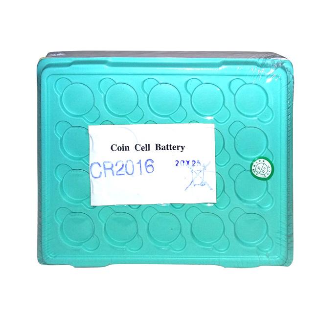 Bateria Botão de Lithium 3V - Bulk - CR2016 (500 Unid.)