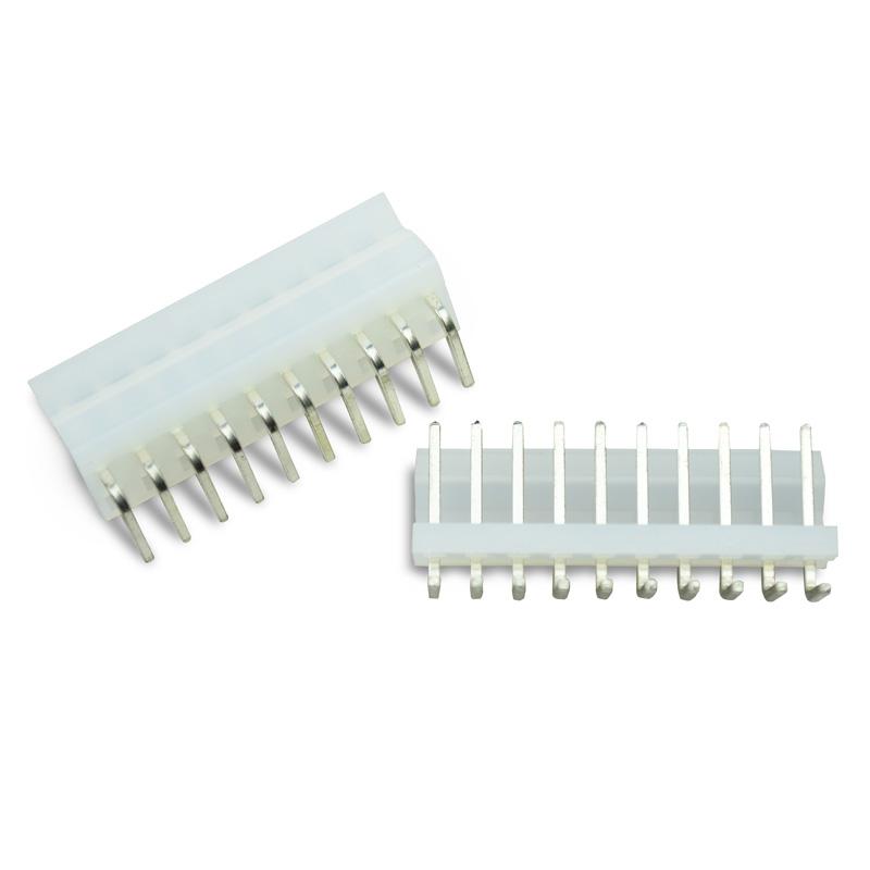 Conector KK 3.96mm 90 Graus 10 Pinos