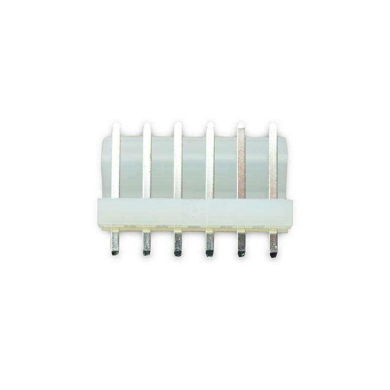 Conector KK 3.96mm 180 Graus 6 Pinos